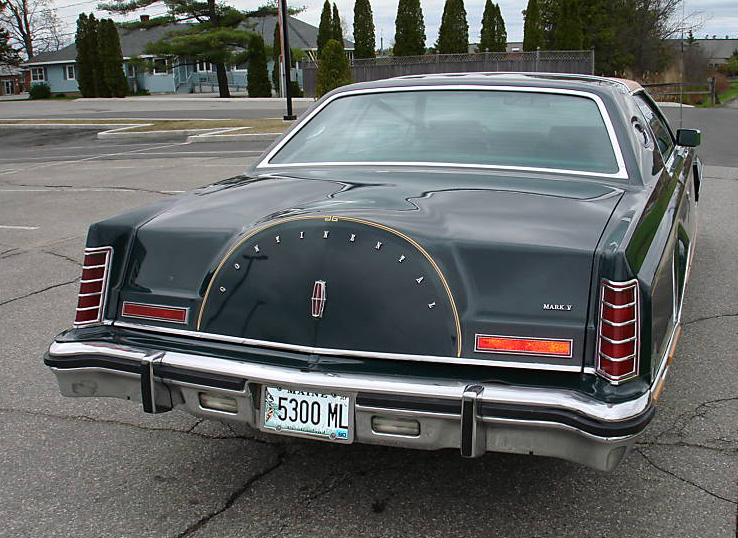 1978 Continental Mark V Givenchy