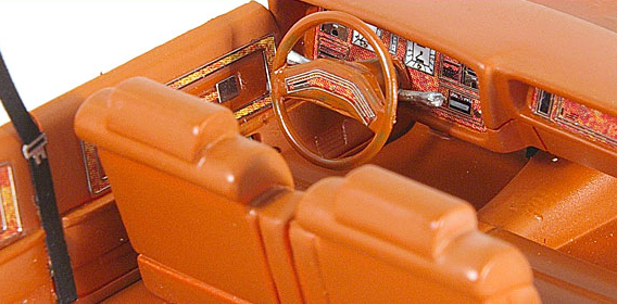 Neo / American Excellence - Lincoln Continental Mark V interior