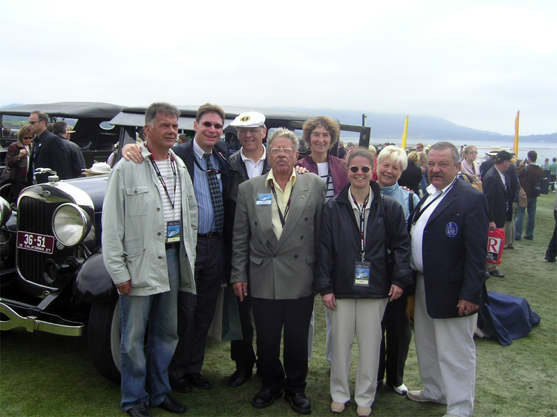 Lincoln & Continental Club LCCE at Pebble Beach, California 2005