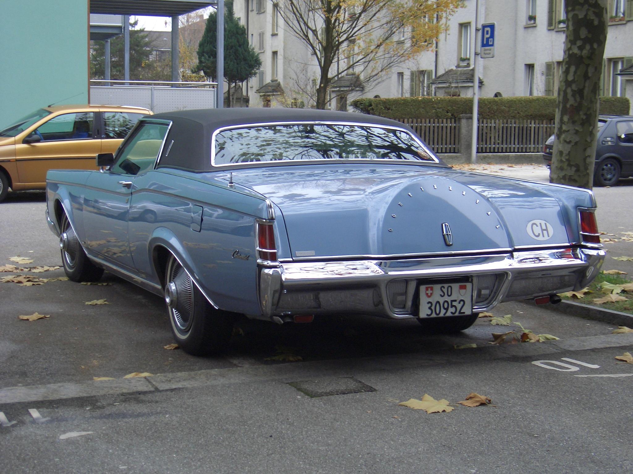 1969 Continental Mark III
