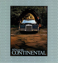 1979 Lincoln Continental Brochure
