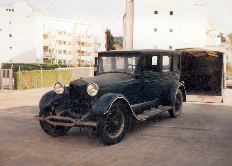 Theo's 1927 Lincoln