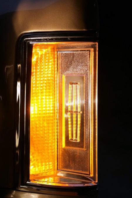 1977-1979 Continental Mark V parking light (Foto: Hanns Meier)